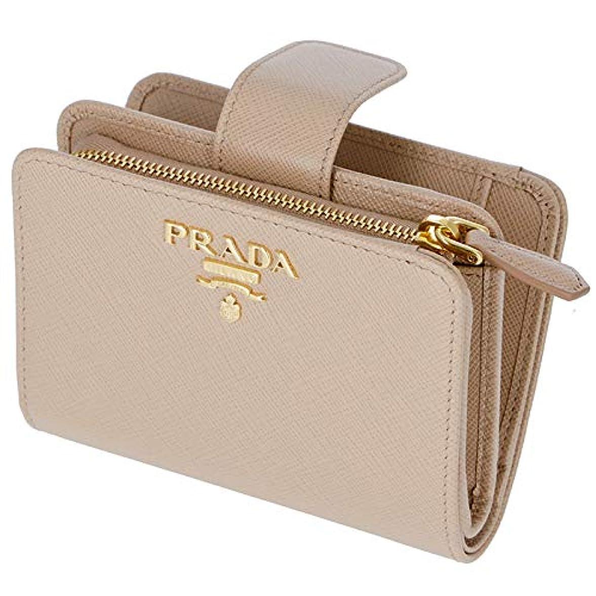 くびれた枯渇マーカーPRADA(プラダ) 財布 レディース サフィアーノメタル 二つ折り財布 1ML018 QWA 236 [並行輸入品]