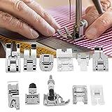 FOLOSAFENAR Prensatelas, prensatelas Ajustable de aleación de Zinc de Alta dureza para máquinas de Coser, Duradero para máquinas de Coser