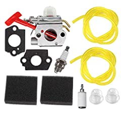Fits for Homelite PLT3400, PBC3600 ST / Ultra Leaf Blower & String Trimmer Replaces for C1U-H39A Fits for Homelite UP00608A UP00608 UP00021 Carburetor Fits for Homelite UT-20677-A UT-20677-A1 UT-15151 UT-15136 String Trimmer