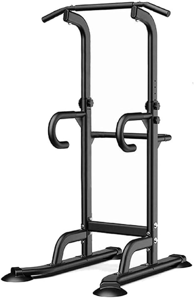 Leasbar Power Tower Exercise Equipment Dip Bar Adjustable Pull U