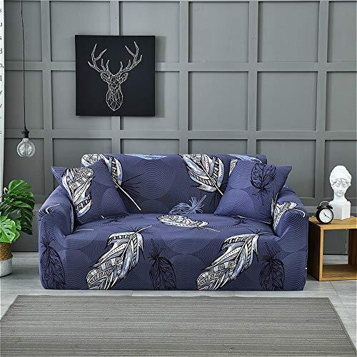 Fundas para sofá de 3 plazas, fundas de sofá de poliéster elástico impresas, fundas de sofá y silla de licra