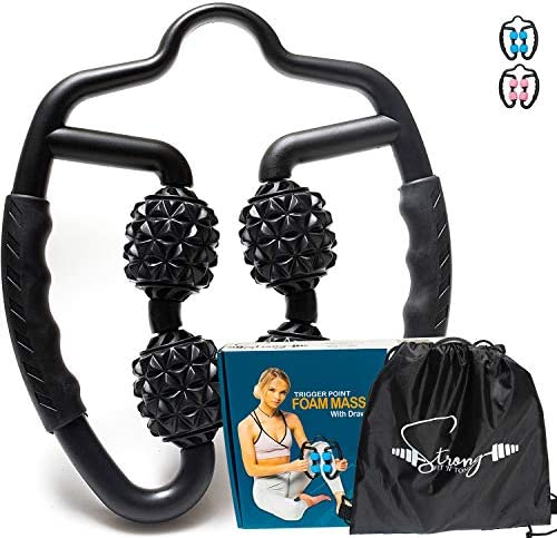Foam Roller Deep Tissue Massager Fascia Blaster Myofascial Massage Tools with Drawstring Gym product image