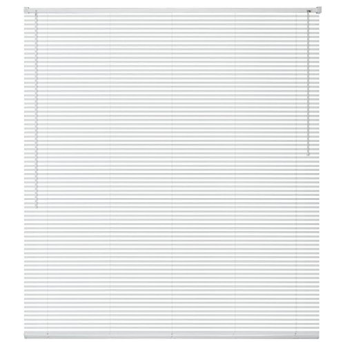 vidaXL Persiana Aluminio 100x160 cm Blanca