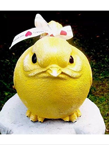 Oiseau décoratif pour la maison/le jardin – Souvenir (Jaune)