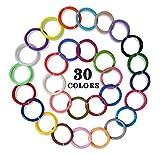 Goograin 3D Pen PLA Filament,1.75mm Diameter High-Precision 3D Printer Filament,5m/16.4ft Per Color, Pack for 3D Pens (30colors)