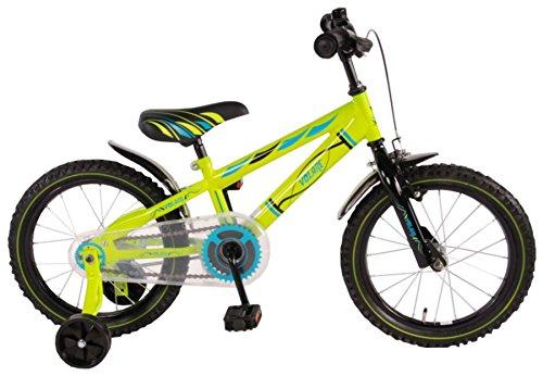 Volare Electric Green Kinderfiets - Jongens - 16 inch - Groen - 95% afgemonteerd