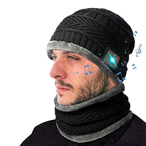 Regalos Originales Gorro Bluetooth Hombre - Regalos Navidad Originales Gorras Bluetooth Con Bufanda,...