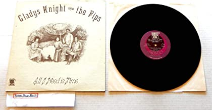 Gladys Knight And The Pips All I Need Is Time - Soul Records 1973 - A Used Vinyl LP Record - 1973 Pressing S 739 L - The Singer - Thank You Falletin Me Be Mice Elf Agin - Here I Am Again