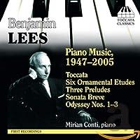 リース:ピアノ作品集(1947 - 2005)(コンティ)