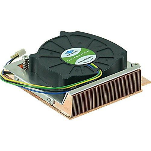 Supermicro 1U Active Heatsink Procesador - Ventilador de PC (Procesador, LGA 775 (Socket T), 49,8 dB, Xeon 3000 Series, Core 2, Pentium D, Pentium 4, 101 x 103 x 28 mm, 5000 RPM)