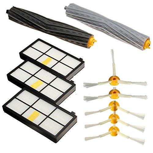 Zuolan Grand set de brosses et filtre Maintenance Kit de remplacement pour iRobot Roomba des 800 870 880 980