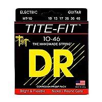 DR MT-10 MEDIUM TITE-FIT エレキギター弦×6セット
