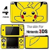 Pokemon Pikachu Cute SKIN VINYL DECAL STICKER COVER NEW #2 for Nintendo 3DS