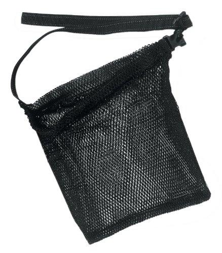 SEAC 1450002000001A Bolsa Estándar de Red con Correa Regulable para Llevar en La Cintura, Adultos Unisex, Negro, 40x50cm