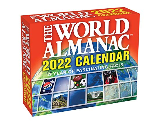 World Almanac 2022 Day-to-Day Calendar: A Year of Fascinating Facts