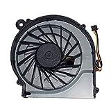 DREZUR CPU Cooling Fan Compatible for H Pavilion G7-1000 G6-1000 G4-1000 Compaq CQ42 CQ62 CQ56 CQ56z G62 G42 Presario CQ62z G62t G62m G62x G42t Series Laptop Cooler 646578-001 (3 pins)