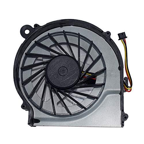 DREZUR Ventilador de CPU compatible con HP Pavilion G7-1000 G6-1000 G4-1000 Compaq CQ42 CQ62 CQ56z G62 G42 Presario CQ62z G42 G62z G62t G62m G62x G42t Series portátil Cooler 646578-001 (3 pines)