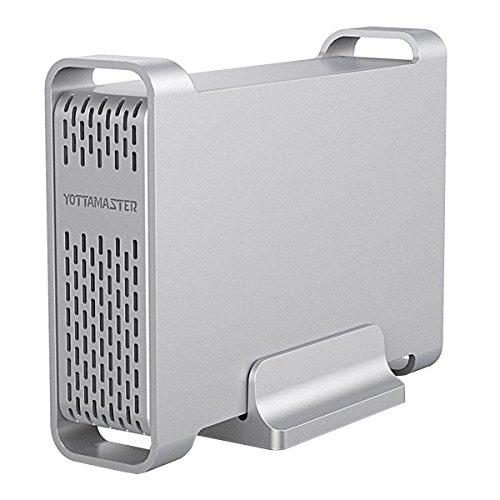 Yottamaster [ UASP e SATA3.0 Alluminio Type-C Case Esterno per Disco Rigido 2.5