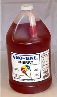 Benchmark USA Snow Cone Syrup ? Cherry