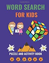 Word search for kids: New word search puzzle for kids 6-12 , an activity book