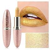 Miss Rose Waterproof Long Lasting Highly Pigmented Super Glittery Creamy Matte VelvetLipstick 7301-411 #7