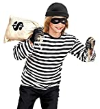 WIDMANN Thief Unisex Costume Robber Crook Fancy Dress (164cm)