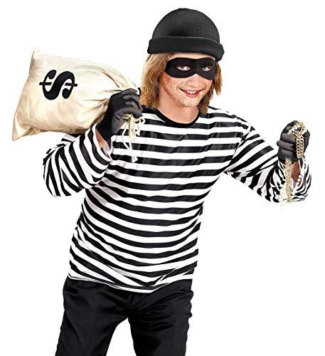 WIDMANN Thief Unisex Costume Robber Crook Fancy Dress (164 cm ...
