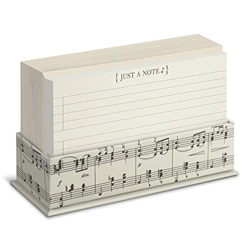 Musical Flat Notes Stationery Set