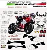Vulturbike Kit de Pegatinas Laguna Seca Design - Ducati Panigale V4R
