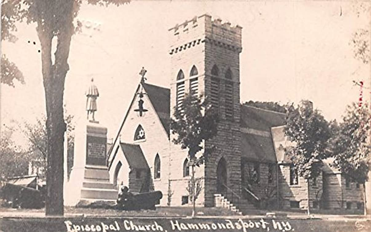 Episcopal Church Hammondsport, New York postcard z42111727387474