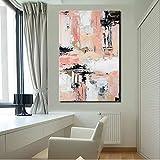 SADHAF Impresión en lienzo decoración de pared arte moderno abstracto póster impreso en lienzo imagen en color para sala decoración de pared A6 70X100cm