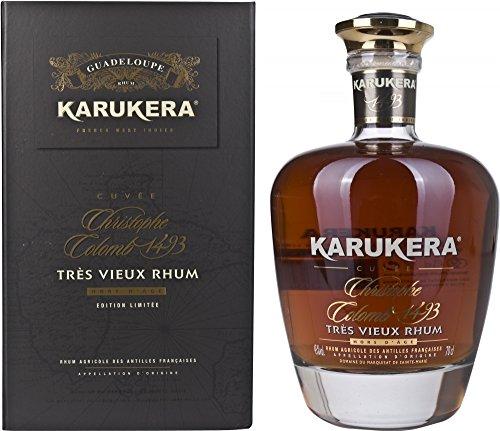 Ron Karukera Cuvee Christophe Colomb 1493 45% 70 cl