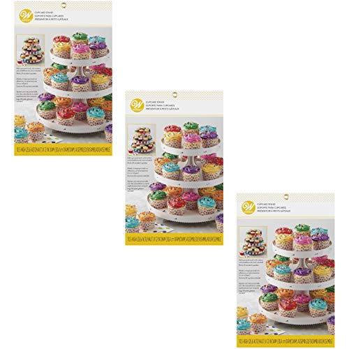 Wilton 3Tier Cupcake Stand  Customizable Set of 3