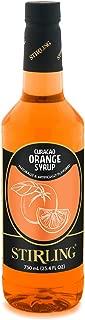 Stirling Curacao Orange Syrup