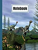 """Notebook: Caudipteryx Dinosaurs Cover Composition Notebook College Ruled, Caudipteryx Dinosaurs Notebooks, School Supplies, Notebooks for School 