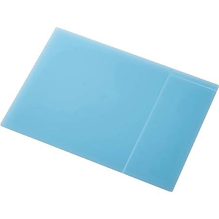 エレコム マウスパッド 【ボールペンでメモが書ける!】シリコン×メモマウスパッド XLサイズ ブルー MP-SR02BU