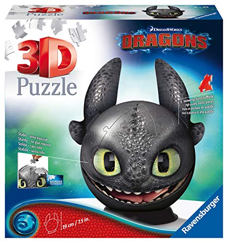 Ravensburger - Puzzleball Dragons 3 (11145) , color, modelo surtido