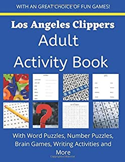 Los Angeles Clippers Adult Activity Puzzle Book
