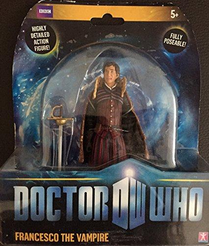 Doctor Who - Figurina snodabile di Francesco il Vampiro, 13 cm