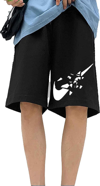 Men's Plus Size Printed Shorts Loose Streetwear Fashion Comfortable Trend