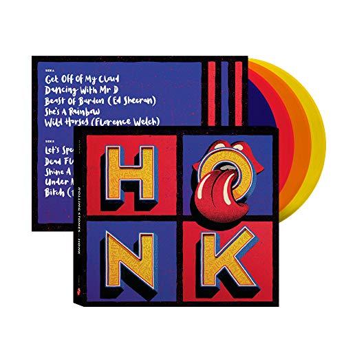 (ΒΕSΤ ΟF...) ΗΟΝΚ. Deluxe 4LP Coloured Vinyl-set