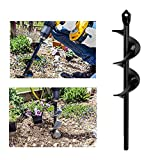 Taladro de jardín, perforador de agujero para jardín