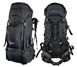 Beefree 80L Backpacker Rucksack Tracking Rucksack wanderrucksack Herren Damen Backpacking wanderrucksack trekkingrucksack reiserucksack Herren Damen mit Regenhülle Frontöffnung fur Reise