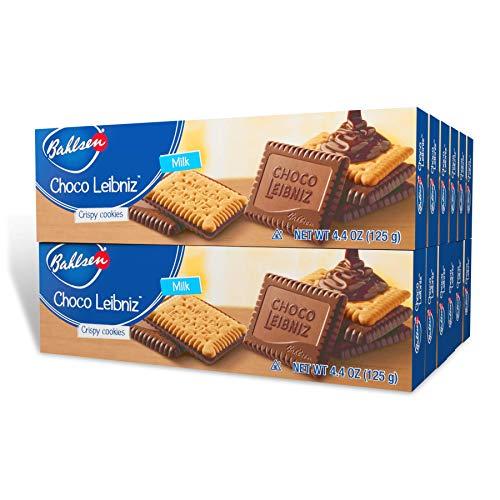 Bahlsen Choco Leibniz Milk Cookies (12 boxes) - Leibniz Butter Biscuits...