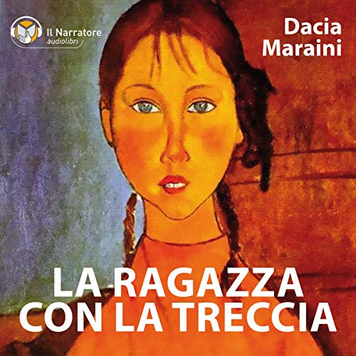 La ragazza con la treccia audiobook cover art