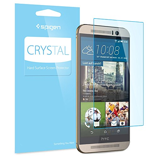 Spigen Crystal Clear HTC One M9 Screen Protector with Crystal Film for HTC One M9