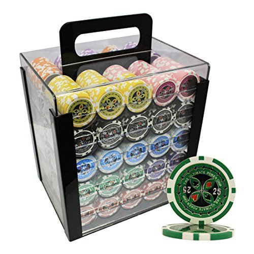1000 14g clay poker chips - 5