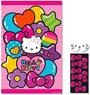 Amscan AMI 271417 Hello Kitty Rainbow Birthday Party Game Multi Color, 11