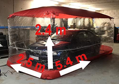 ic12 LPG Reiniger Auto Luftblase aufblasbare Kapsel Aufbewahrung Large Carcoon 5,4 x 2,5 x 2,4 cm