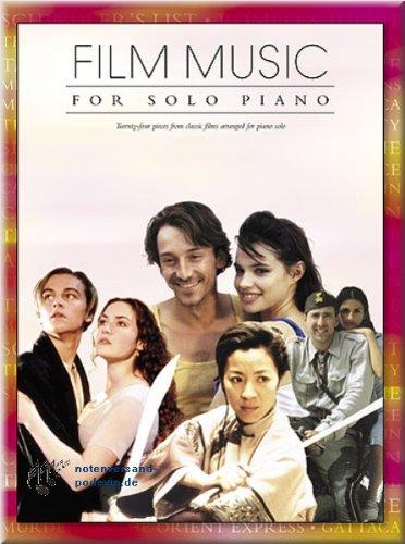Film Music For Solo Piano - Klaviernoten [Musiknoten]